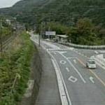国道20号梁川ライブカメラ(山梨県大月市梁川町)