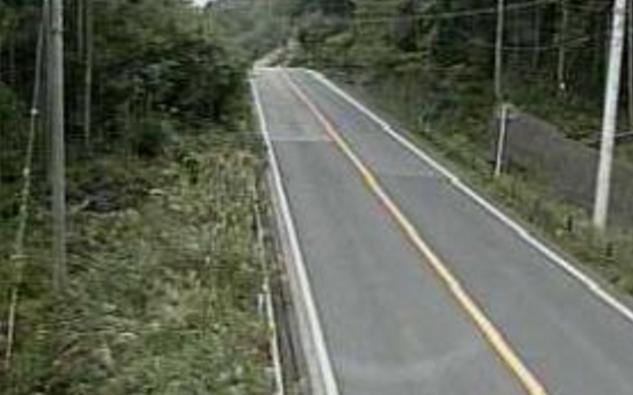 大和峠から国道52号