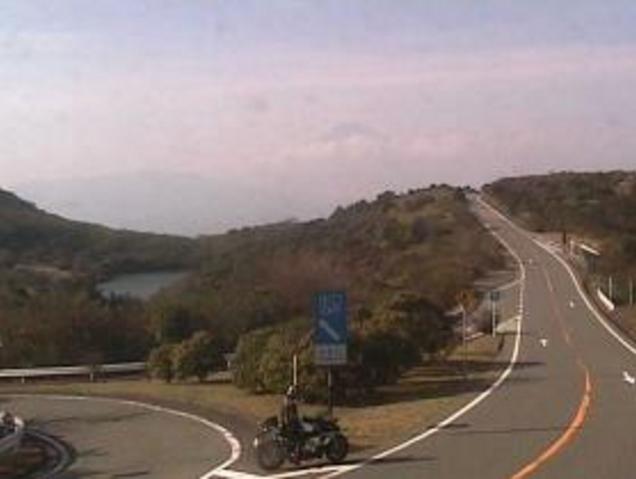 玄岳インターチェンジ付近から伊豆スカイライン