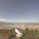 大町山岳博物館アルプスライブカメラ(長野県大町市大町)
