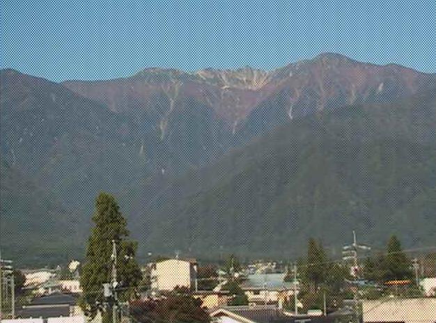 駒ヶ岳市役所から駒ヶ岳