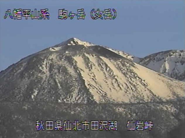 仙岩峠から八幡平山系(秋田県側)