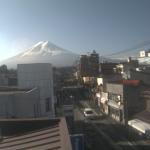 永寿電気富士山ライブカメラ(山梨県富士吉田市中曽根)
