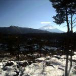 いやしの宿ひがしむら富士山ライブカメラ(山梨県富士河口湖町西湖西)