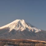 忍野富士山ライブカメラ(山梨県忍野村忍草)