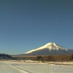 絶景ちゃん山中湖花の都公園富士山ライブカメラ(山梨県山中湖村山中1650)
