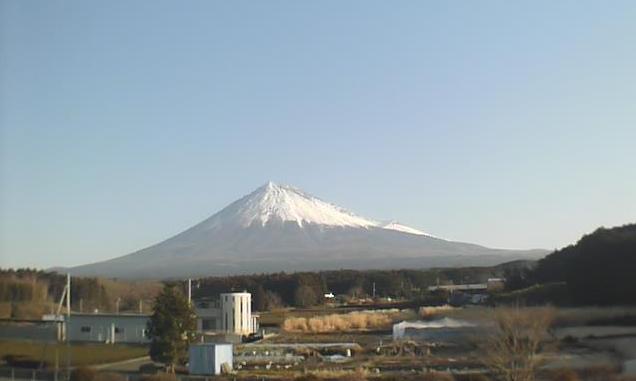 三協富士見工場から富士山