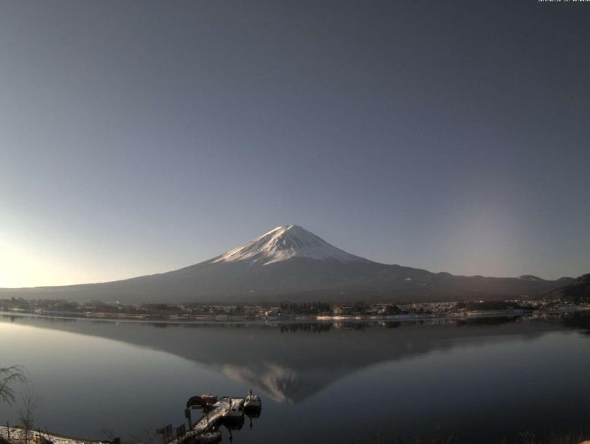 コテージ戸沢センターから富士山・河口湖・八木崎公園