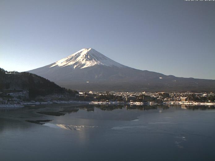 KUKUNA(くくな)から逆さ富士