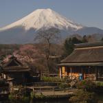 忍野八海富士山ライブカメラ(山梨県忍野村忍草)