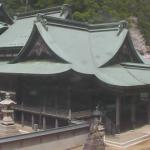 箸蔵寺本殿ライブカメラ(徳島県三好市池田町)