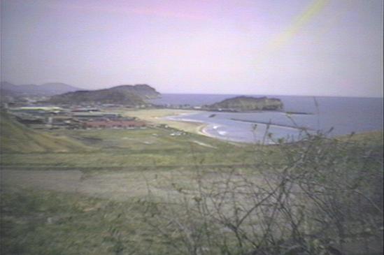 室蘭ユースホステルからイタンキ浜海水浴場
