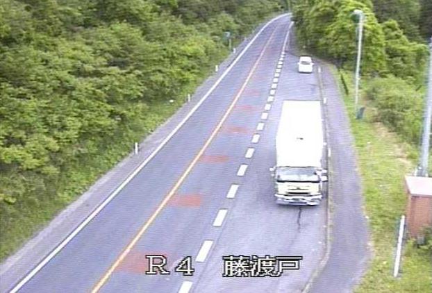 藤渡戸から国道4号が見えるライブカメラ。