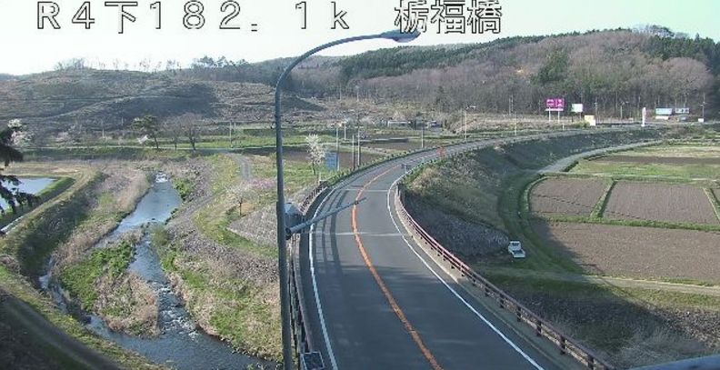 国道4号栃福橋ライブカメラ(栃木県那須町豊原)