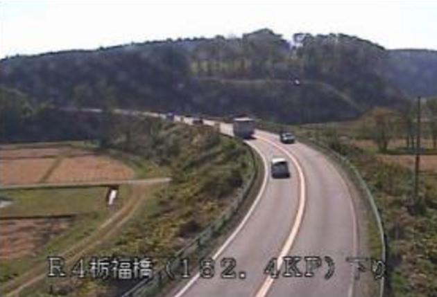 栃福橋から国道4号