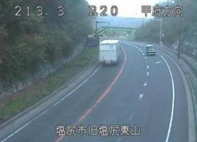 旧塩尻東山甲府方向から国道20号