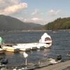 木崎湖モダンボートライブカメラ(長野県大町市平)