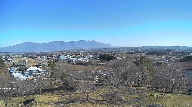 立科温泉権現の湯から浅間山連峰・立科町内