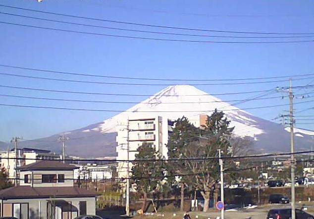 アクト本社から富士山