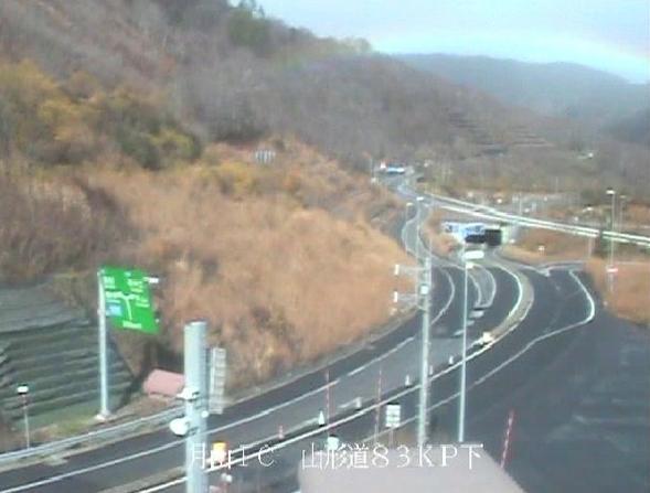 月山ICから山形自動車道(山形道)