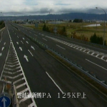磐越自動車道新鶴PAライブカメラ(福島県会津美里町和田目)