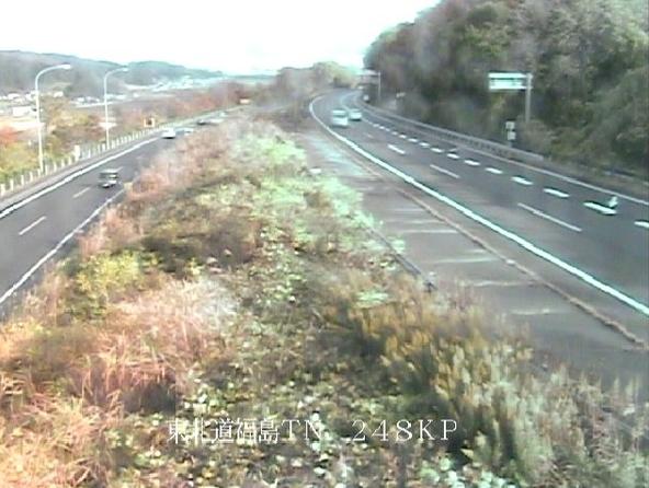 福島トンネル北から東北自動車道(東北道)