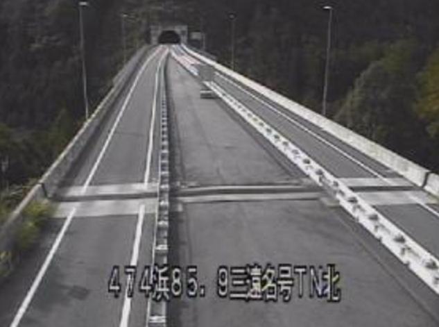 三遠名号トンネル北から国道474号