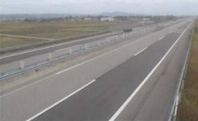 福岡IC付近から能越道(能越自動車道)
