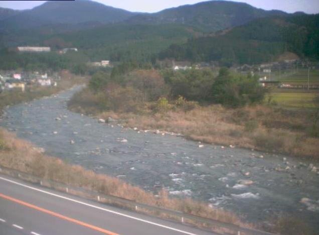 島田橋上流から付知川