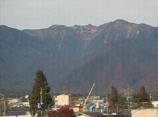 気賀沢不動産から宝剣岳