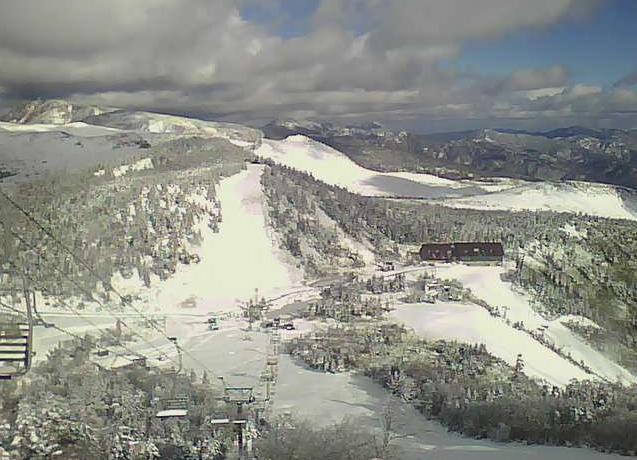 草津白根山から草津国際スキー場