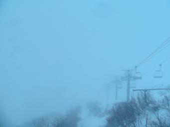 白馬八方尾根スキー場から黒菱平山麓