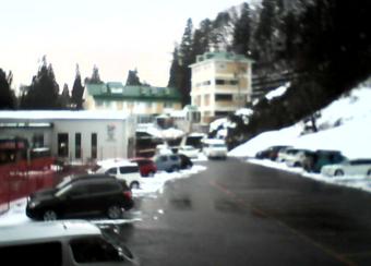 白馬八方尾根スキー場から八方駅前A駐車場