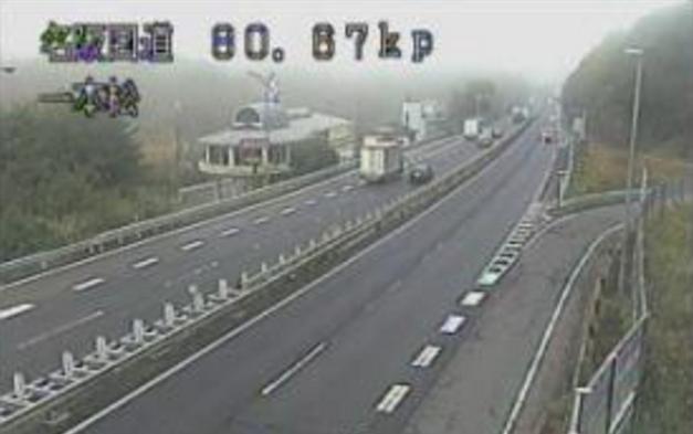 一本松から名阪国道