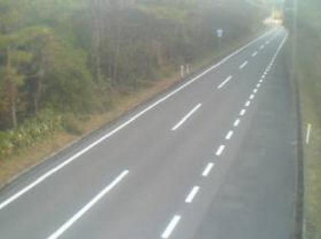 福本峠から国道482号