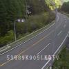 国道53号馬桑登坂下りライブカメラ(岡山県奈義町馬桑)