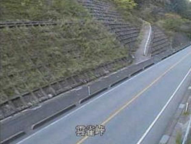 雲雀峠から山口県道32号萩秋芳線
