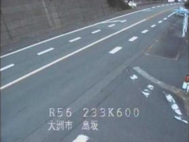 国道56号鳥坂峠ライブカメラ(愛媛県大洲市稲積)