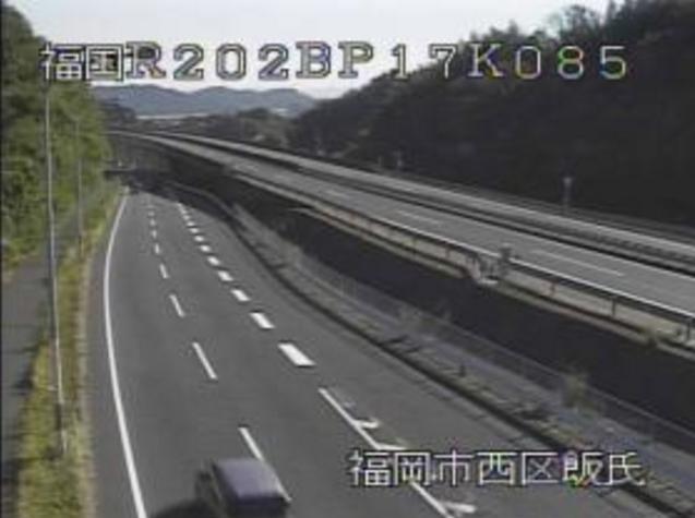 徳永から国道202号バイパス