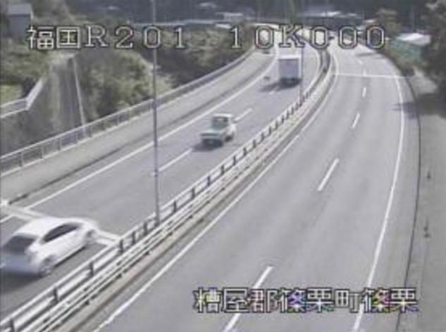 篠栗橋から国道201号
