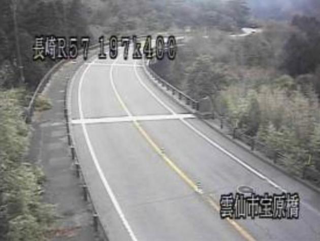 宝原橋から国道57号