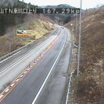 道央自動車道金山トンネル上りライブカメラ(北海道黒松内町東川)