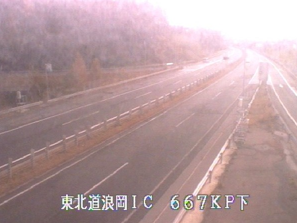 浪岡ICから東北自動車道(東北道)