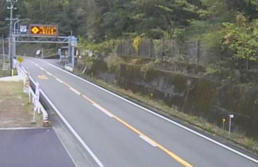 国道42号大泊ゲートライブカメラ(三重県熊野市大泊町)