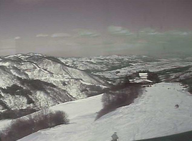 湯沢高原スキー場レストランエーデルワイスからアルプの里