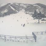 白馬五竜スキー場ライブとおみゲレンデカメラ(長野県白馬村神城)
