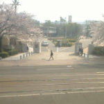 長崎大学正門ライブカメラ(長崎県長崎市文教町)