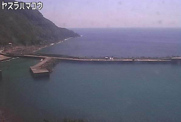 やすら浜港から悪石島周辺海域