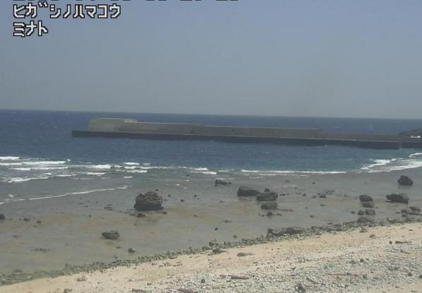 東之浜港から平島周辺海域