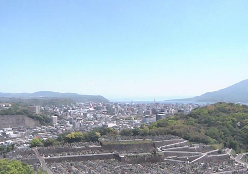 新生田上霊園ライブカメラ(鹿児島県鹿児島市田上台)